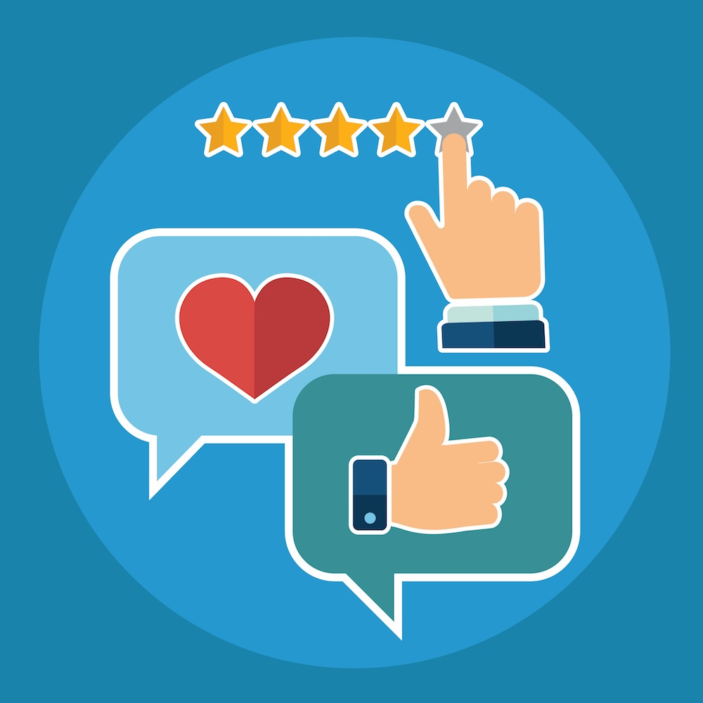 Customers talk, review, and compare your service