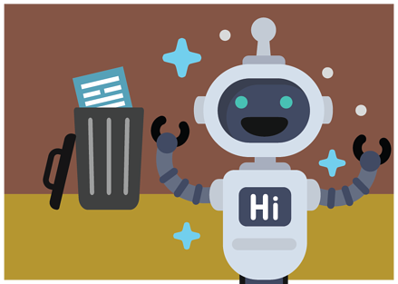 Chat bots can replace forms
