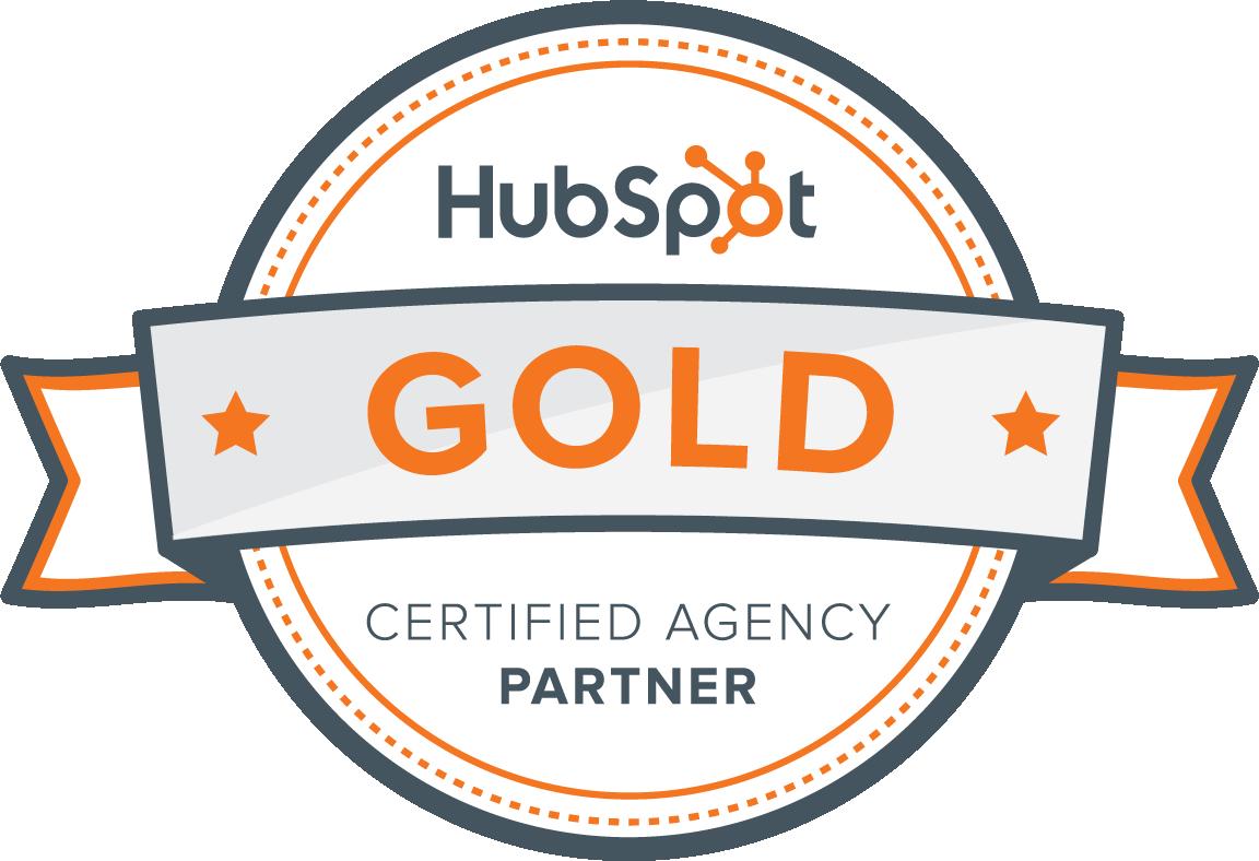 We're a HubSpot Gold Partner Agency