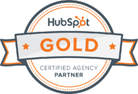 We're a HubSpot Gold Partner Agency