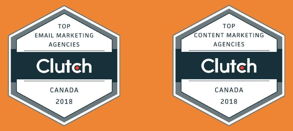 Flawless Inbound Clutch Marketing Awards Banner