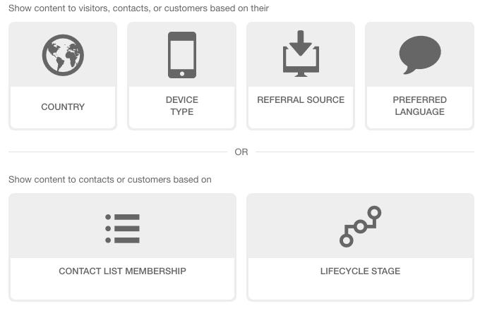 HubSpot Smart CTA Options