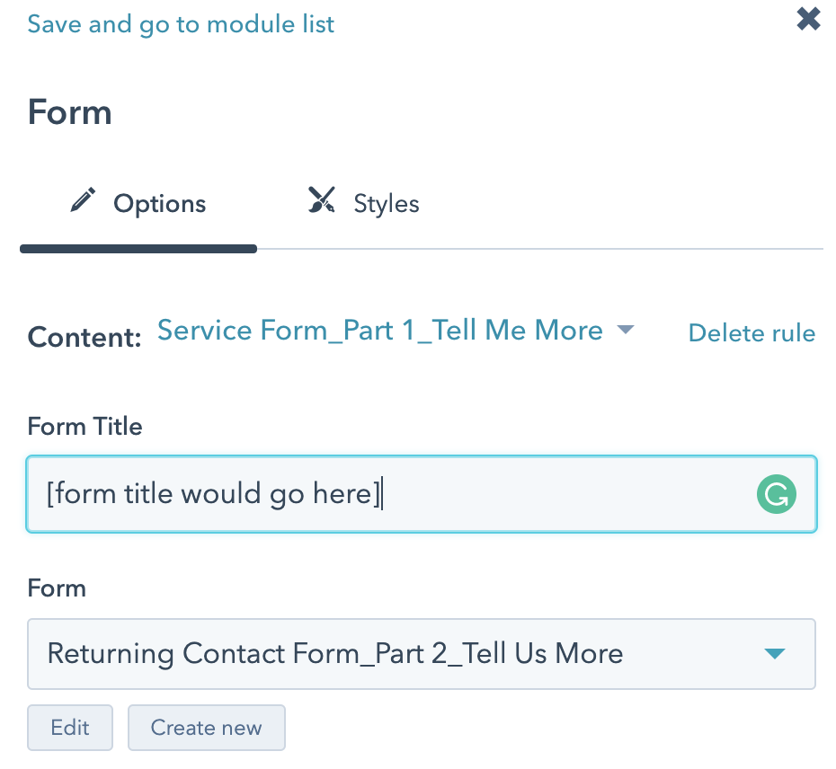 Step 3_smart form settings