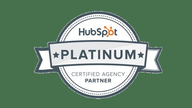 We're a HubSpot Platinum Partner Agency