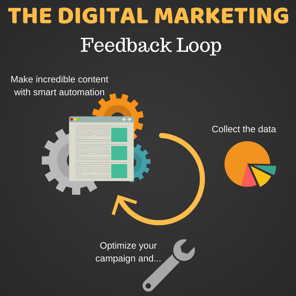 Set up your data marketing feedback loop