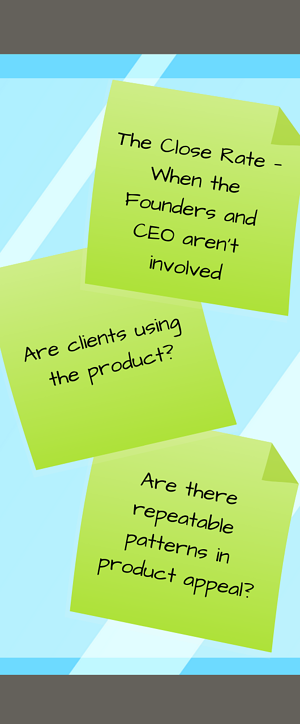 Three ways to assess your B2B SaaS Product-Market Fit