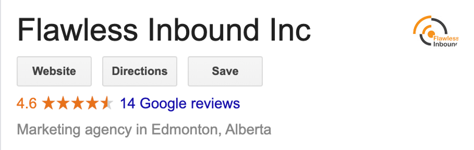 Flawless Inbound - Google Reviews