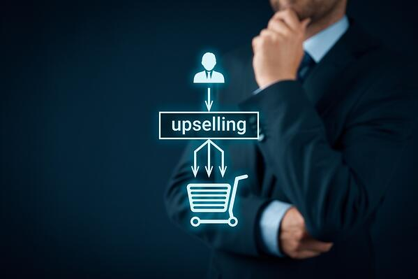 Upsell to help your customers out more